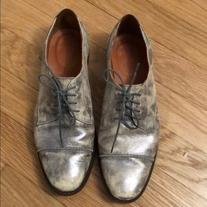 Madewell silver oxford 6.5